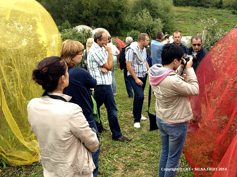 Agricultural University in Nitra (Slovakia) scientist visit