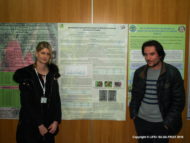 International symposium on sustainable fruit production